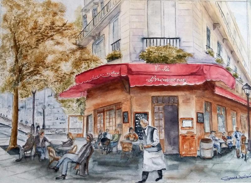 Caf Ef Bf Bd De La Mairie  Rue De La Pompe